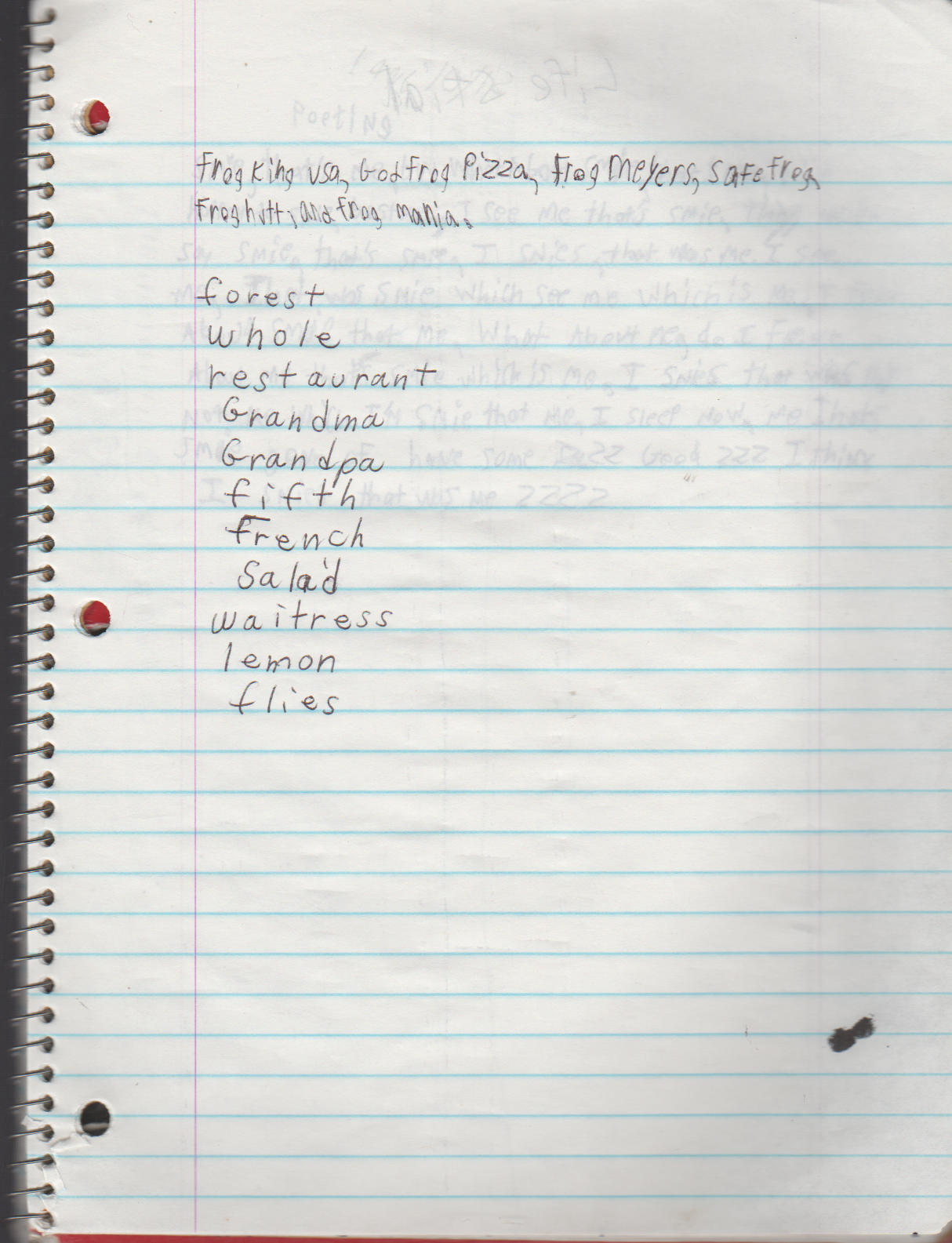 1996-08-18 - Saturday - 11 yr old Joey Arnold's School Book, dates through to 1998 apx, mostly 96, Writings, Drawings, Etc-084.png