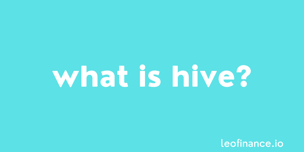 What is Hive crypto