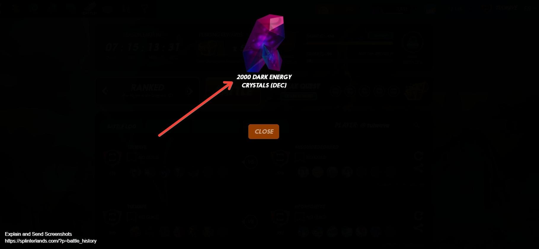 Screenshot of Splinterlands  Collect, Trade, Battle! 40.jpg