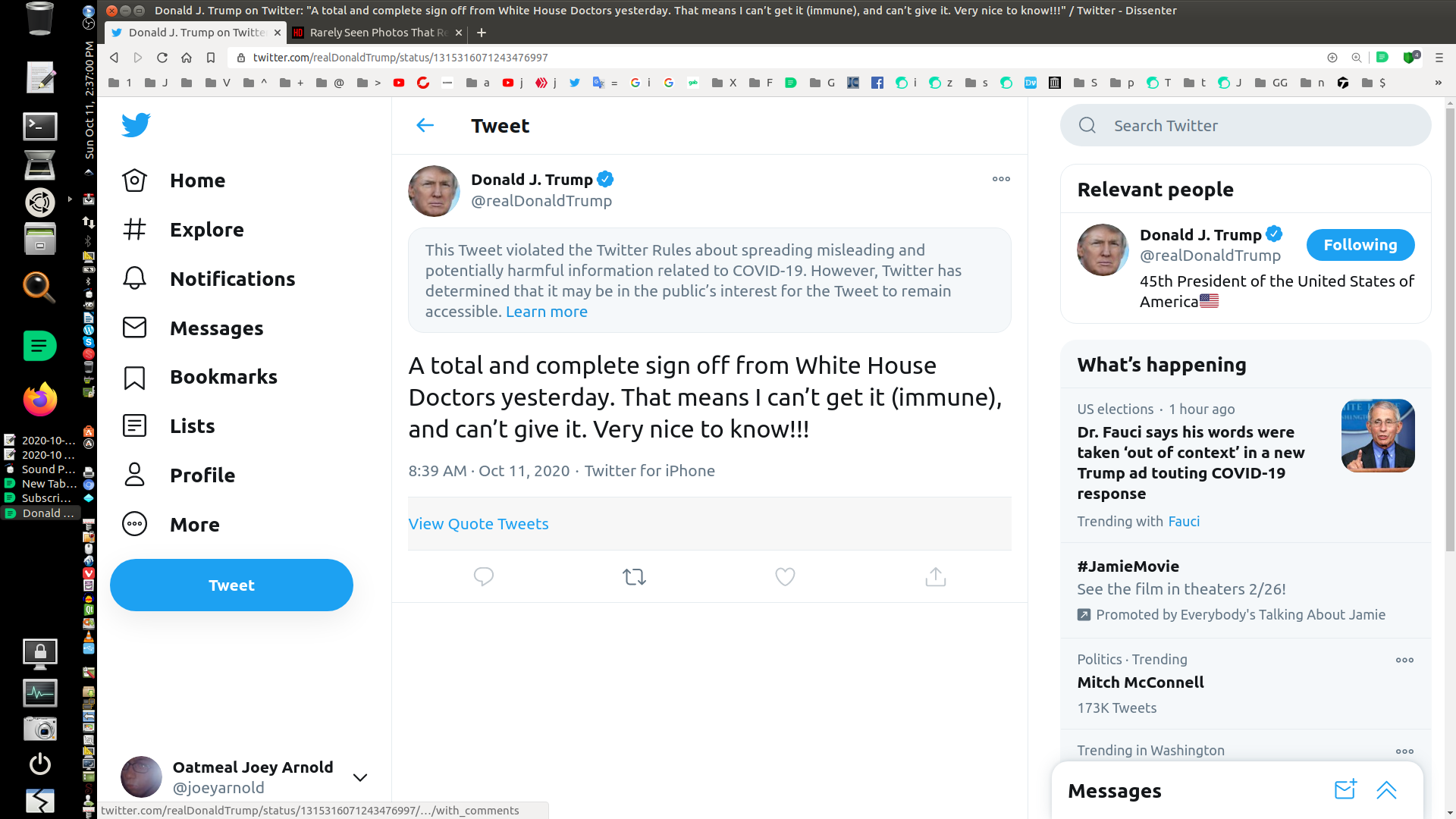 Screenshot at 2020-10-11 14:37:00 Trump Twitter Censor.png