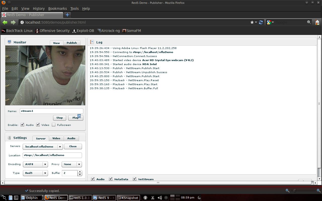 Gambar 4.1 Tampilan stream1 dari browser server.png