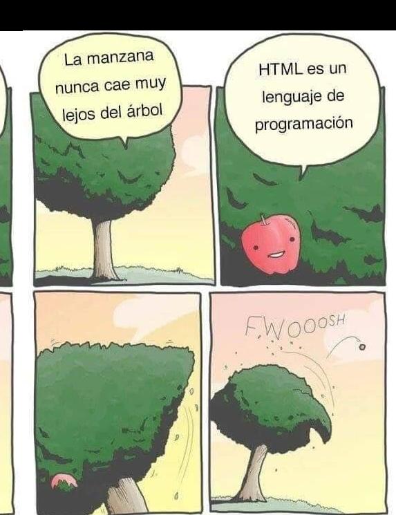 Meme sobre HTML