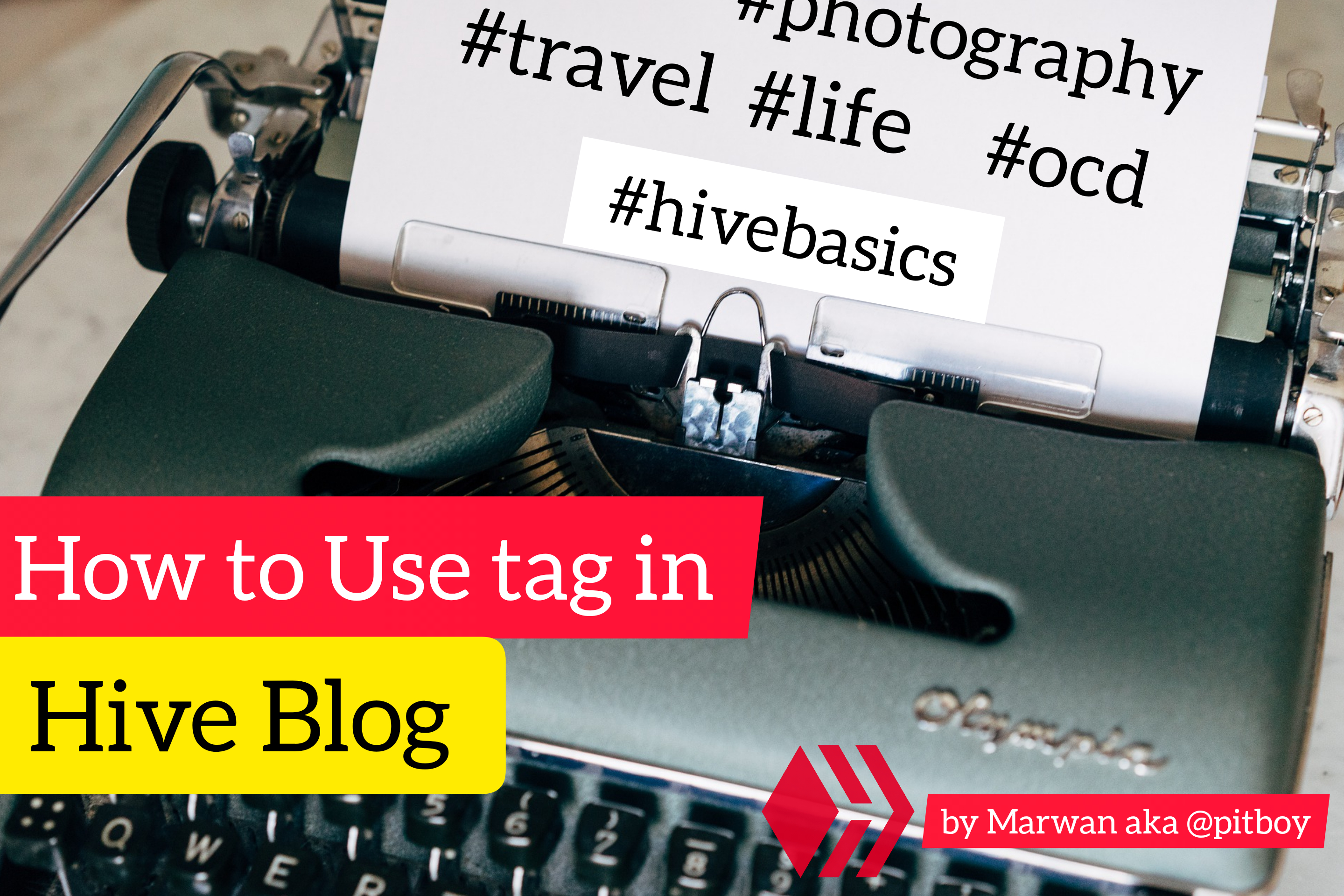 Tag in Hive Blog