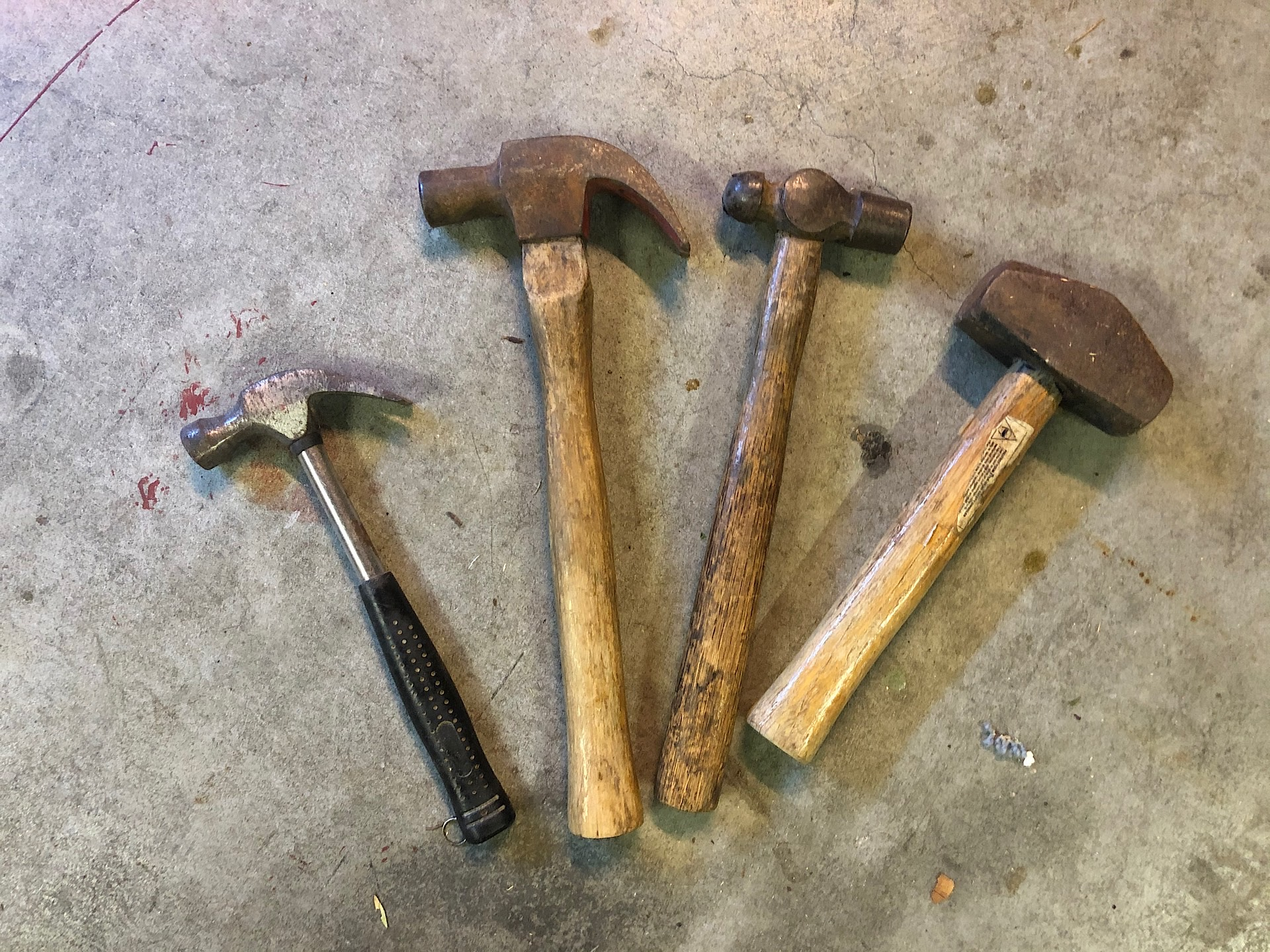 Some of my hammers