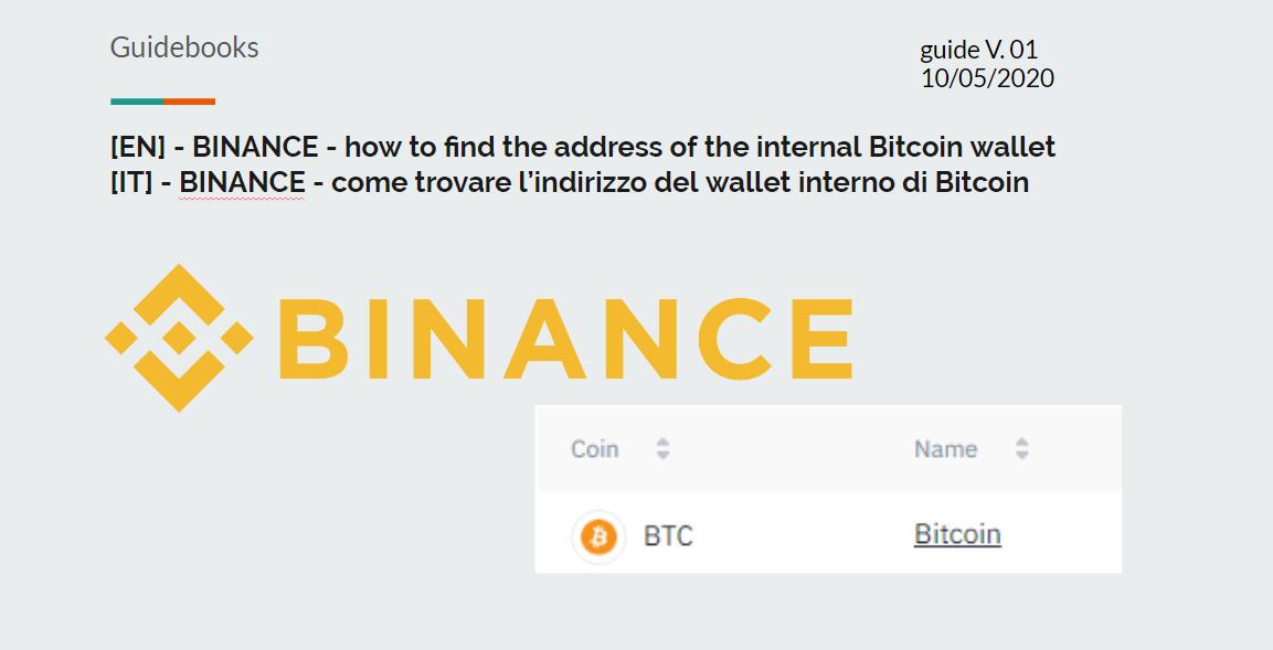Ricerca di indirizzi bitcoin