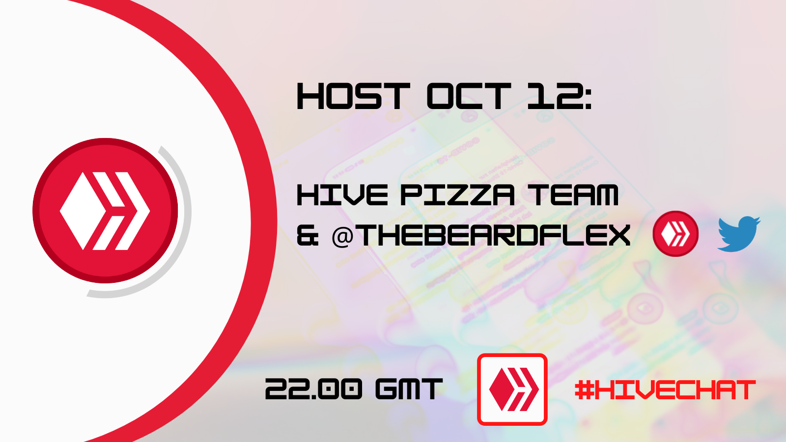 October 12th HIVECHAT announcement.png