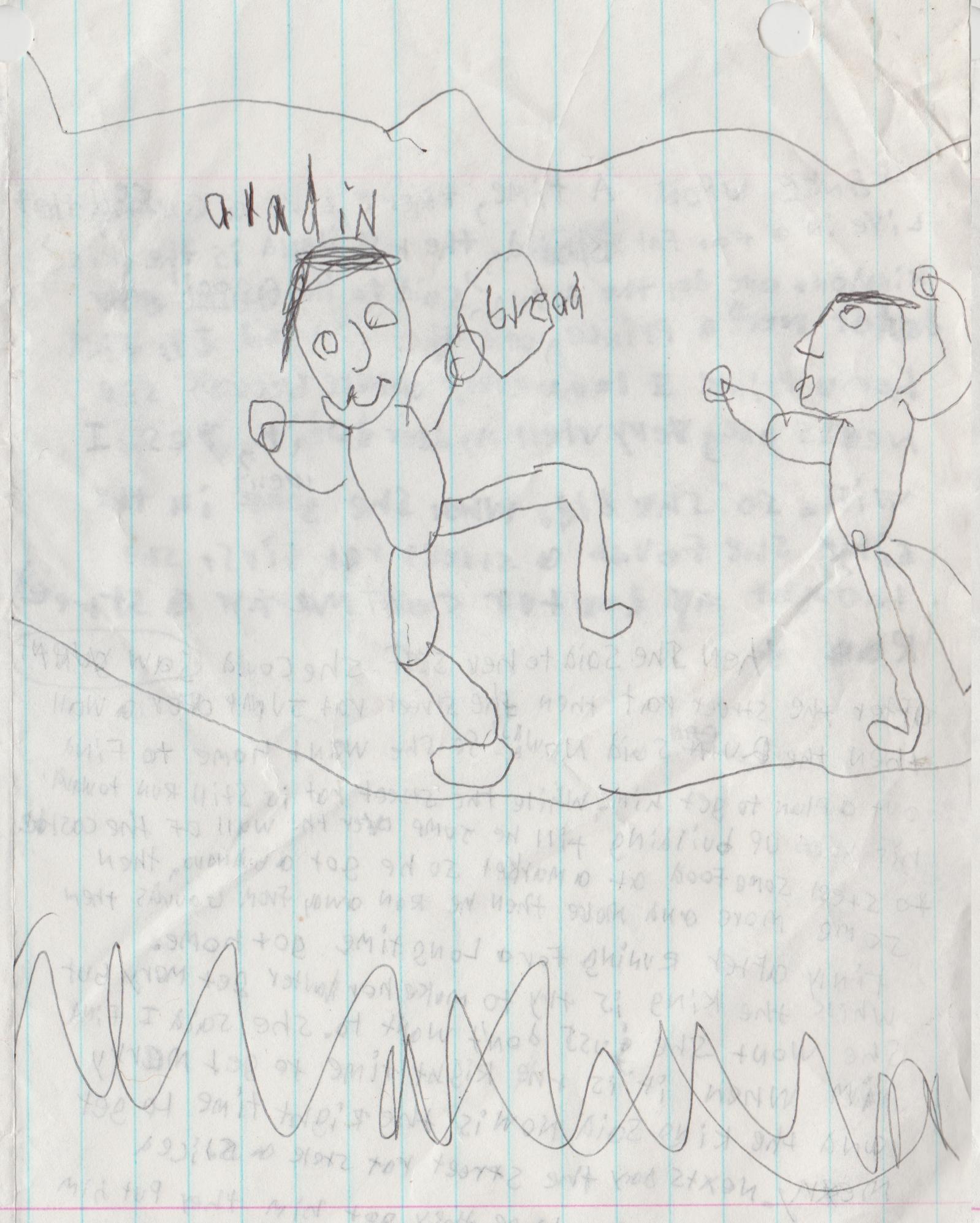 1995 maybe - Aladin Jasmin Queen Rat King Merry Story 03.jpg