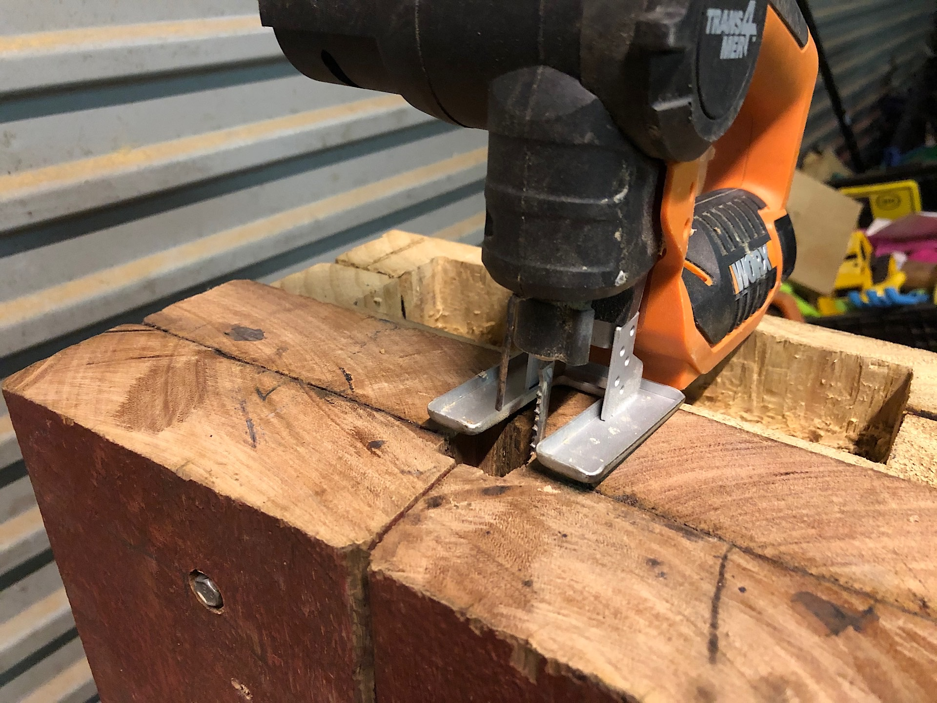 Squaring the hardy hole with a jigsaw