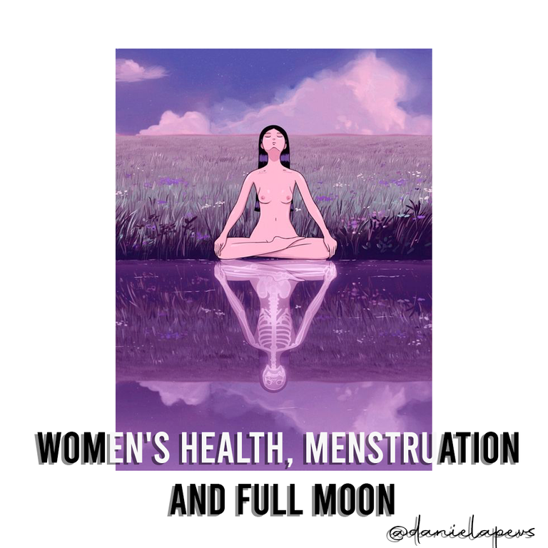Women's health, menstruation and full moon.png