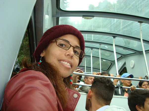 Funicular to go up to the Moncerrate hill