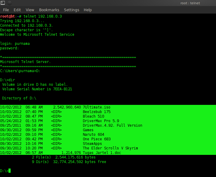 Gambar 4.2 Telnet ke host.png