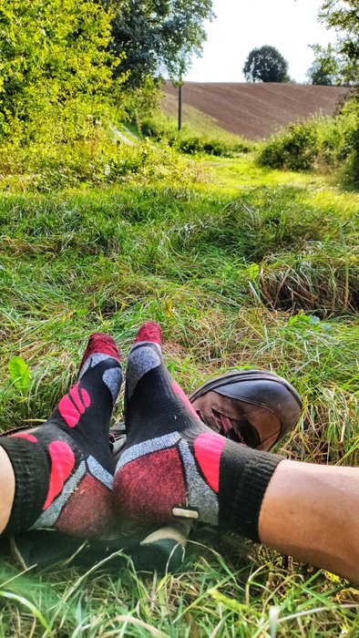 After nearly 30 kilometres you can take a break.
