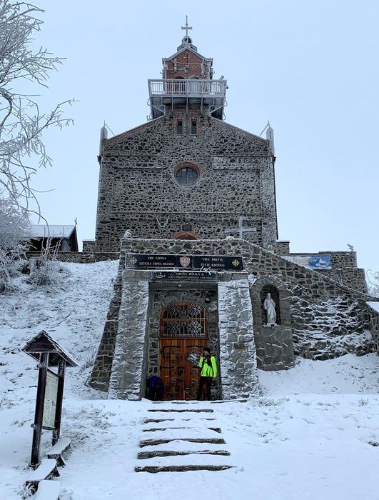 Kościół rzymsko-katolicki na szczycie Ślęży