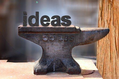 Anvil, Forge, Idea, Think Tank