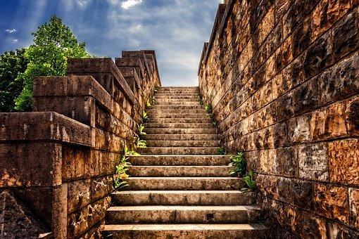 Steps, Stairs, Architecture, Masonry