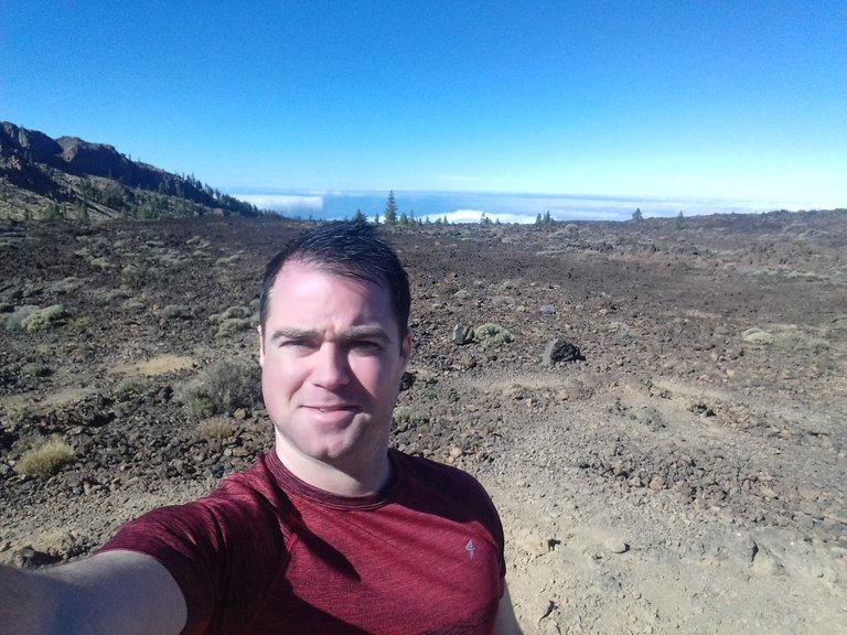 Life on Mars? Checkin' out the arid lands of Teide
