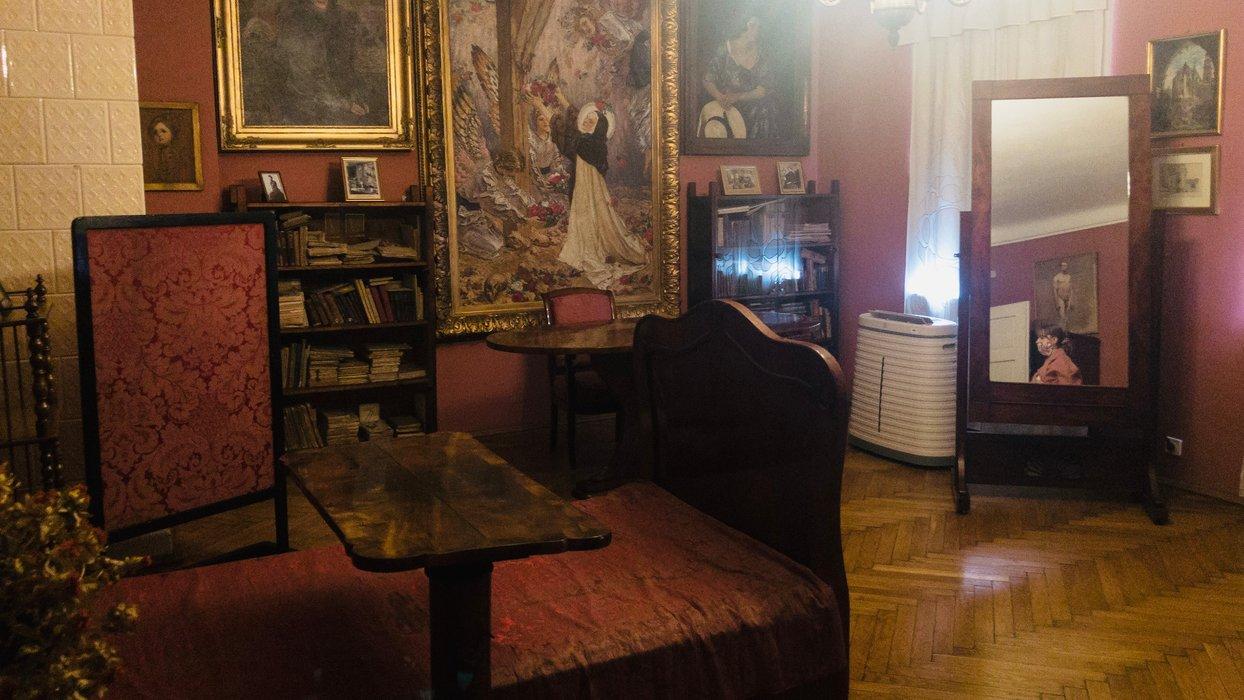 Pokój Józefa Mehoffera / Józef Mehoffer's room