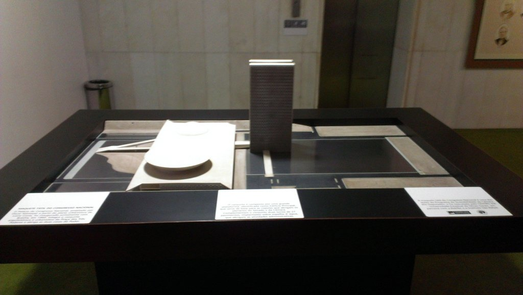 Model of the three powers complex