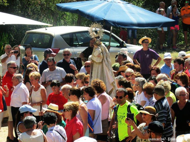Romería de la Virgen de la Salud. Panorámica 2