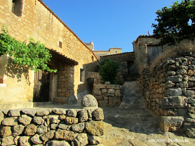 Beautiful stone and adobe houses