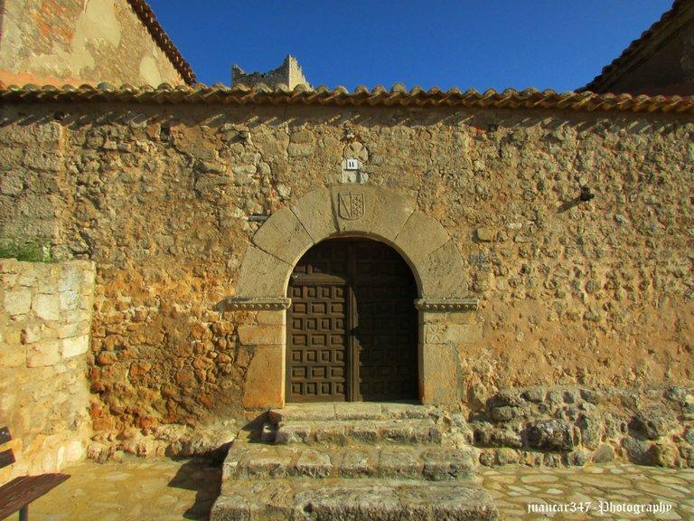 Main door of the church