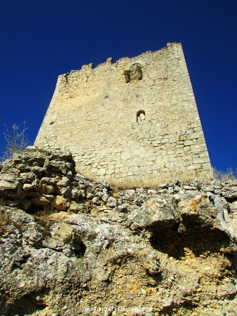 Medieval castle tower