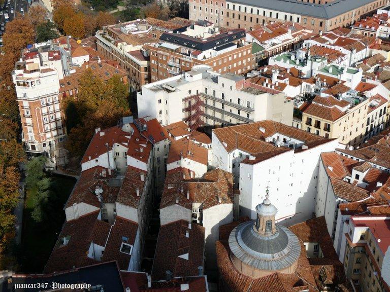 Madrid roofs
