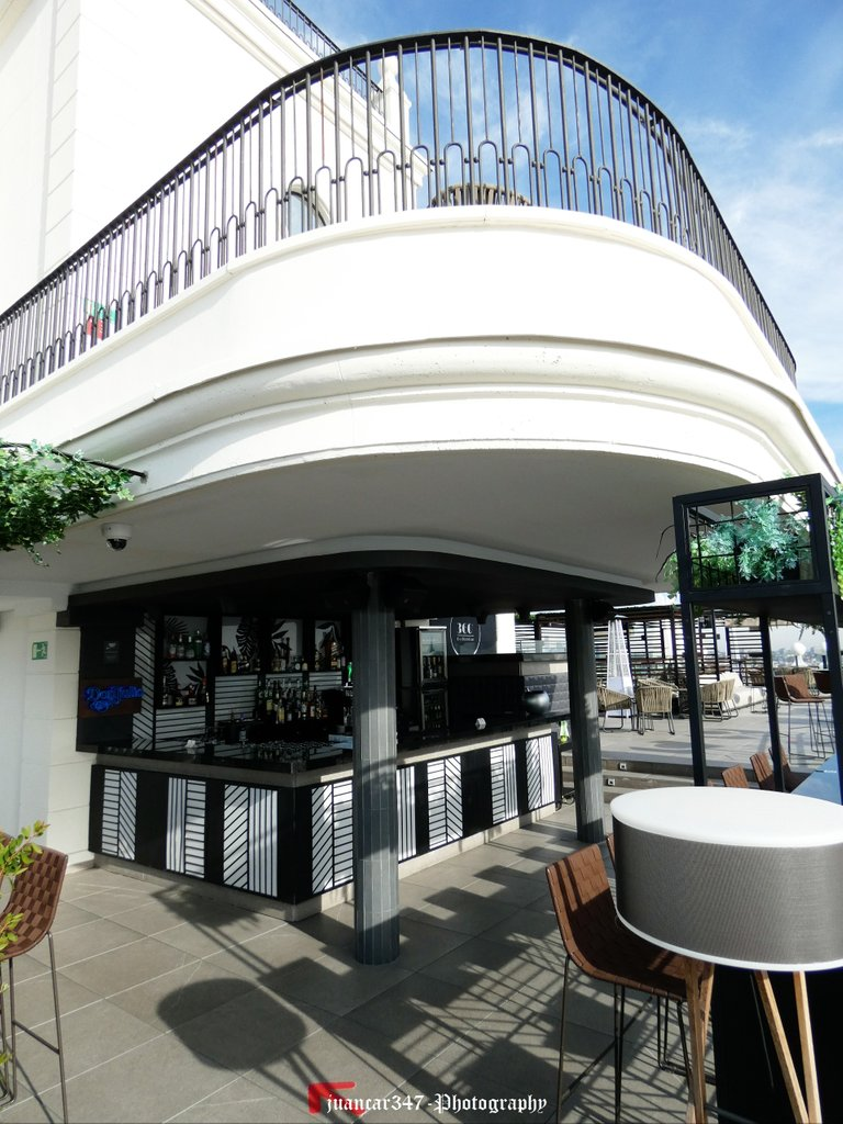 One of the stylish terrace bars