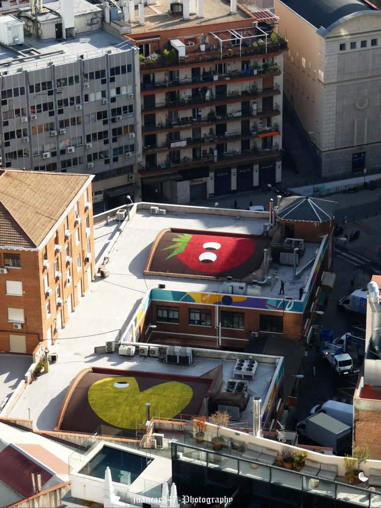 Curiosities of the Madrid rooftops