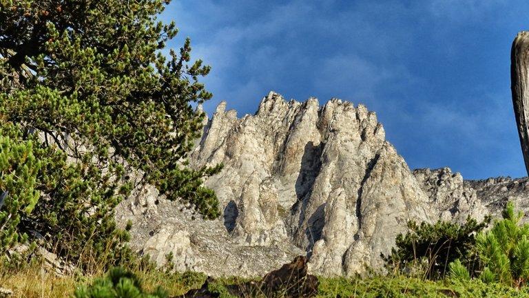 The mythological mountain