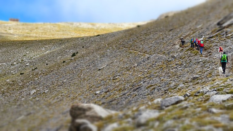 At the high the nature's level is low