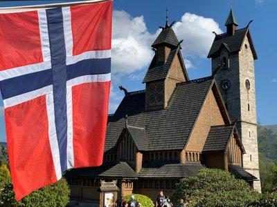 Norweska świątynia w Karkonoszach. The Wang church in Karpacz, Poland [PL/EN]