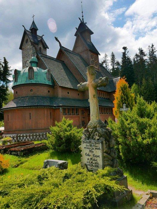 Kościół Wang. Foto Joanna M.