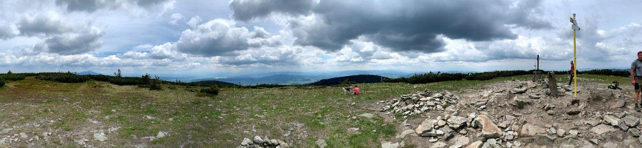 Panorama szczytowa