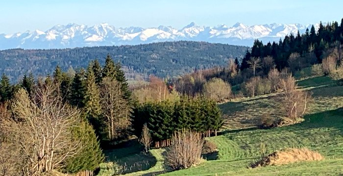 Maj 2021 na szlakach. 6 różnych pasm gór i prawdopodobnie najpiękniejszy widok w całych Beskidach.