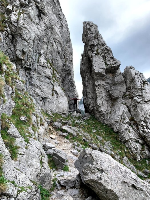 Rocks near the Mylna Cave