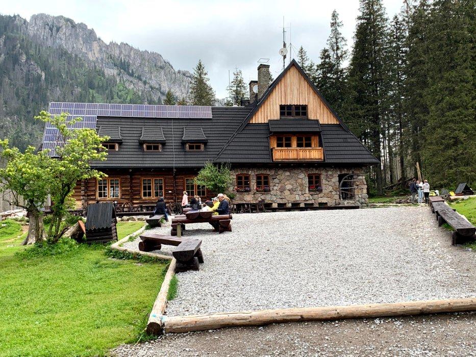 "Mountain Hut ""Ornak"" in the Kościeliska Valley"