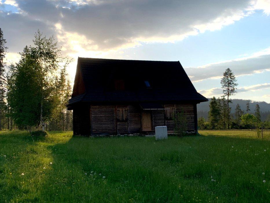 A shepherd's hut in the Chochołowska Valley