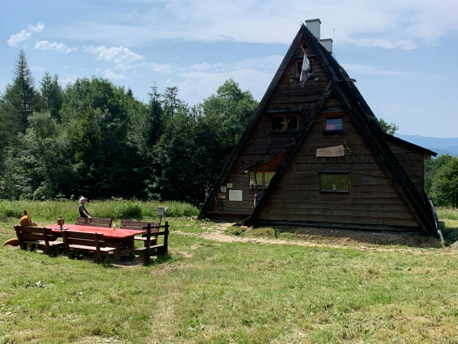 Chata Socjologów, Górny Otryt