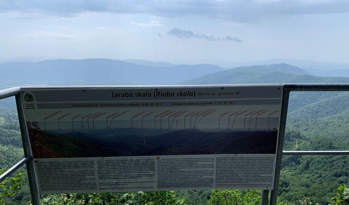 Punkt widokowy Jarabia Skała (1167m)