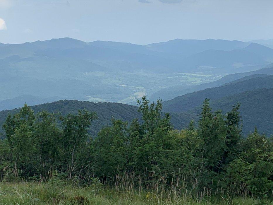 Widok z Wielkiej Rawki