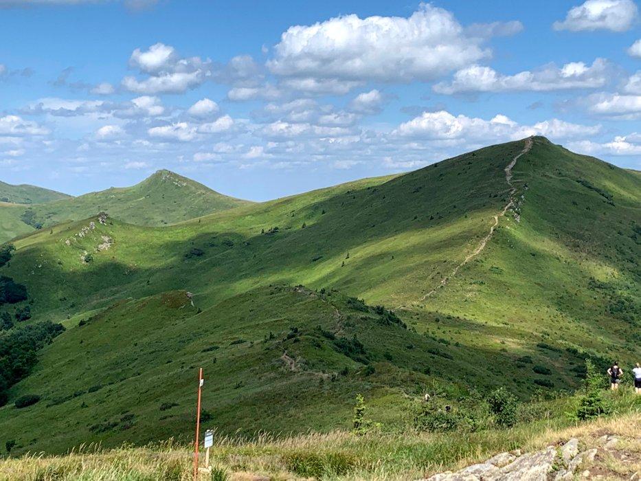 Szlak na Halicz, zdjęcie z okolic Rozsypańca