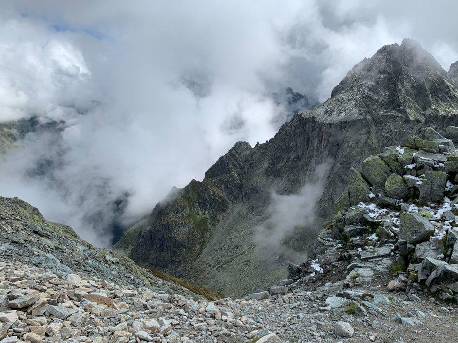 Przełęcz Waga - wejście (11:23)