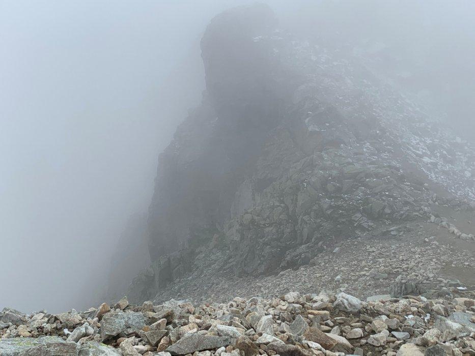 Przełęcz Waga - zejście (12:33)