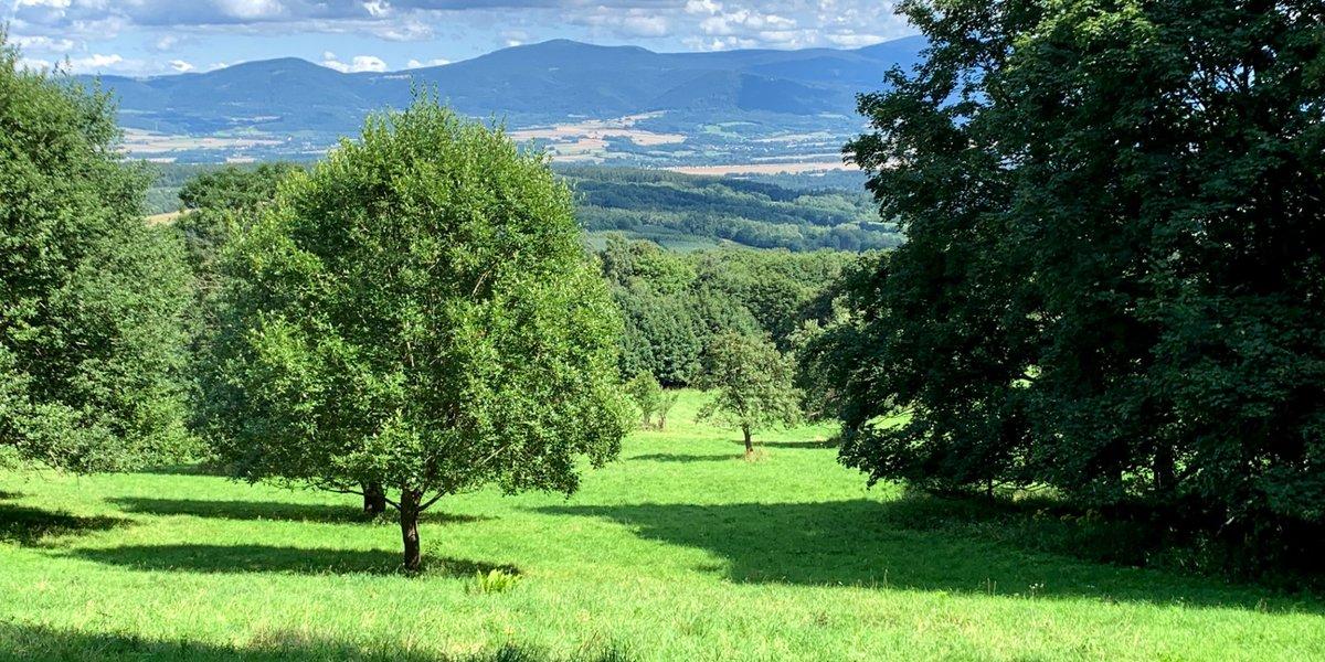 Korona wokół Kotliny Kłodzkiej: Cz.3 - 35km, Spalona i dwie Jagodne - dla turystów i dla wędrowców.