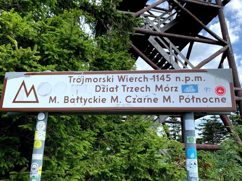 Trójmorski Wierch, 1145m