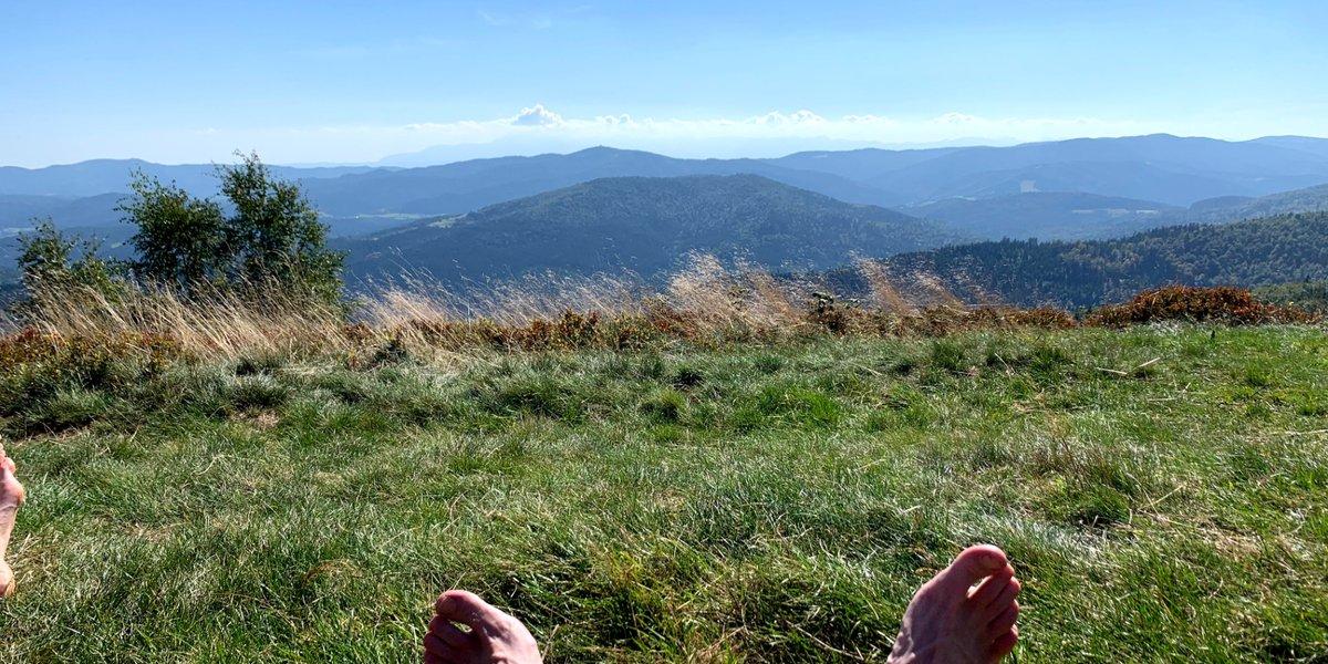Diademowy Tour Numer Dwa: Część 1 - Najpiękniejsza polana w całych Beskidach.