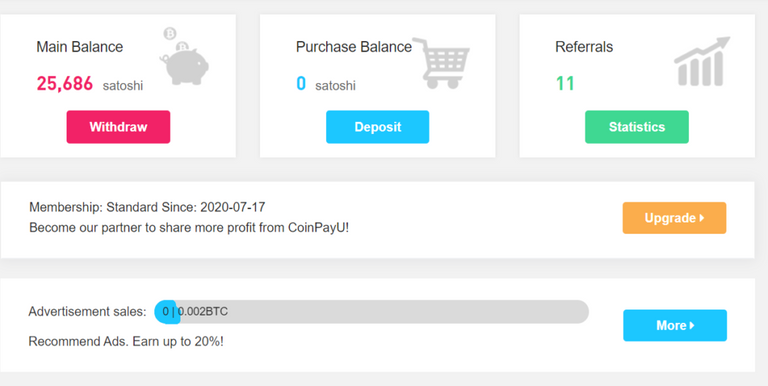 Coinpayu New Features and One More Payout Proof