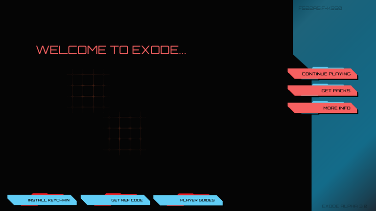 A new website is being made, to share more EXODE space love!