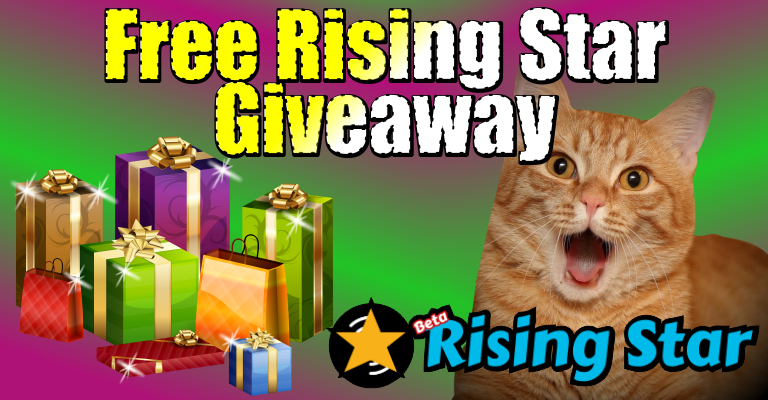 Free Rising Start🌟 giveaway🎁 (daily) + PIZZA / Regalo🎁 gratis de Rising Start 🌟 (diario) + PIZZA #72